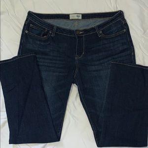 Old Navy Straight Dark Denim Jeans